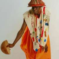 Abdou en tenue traditionnelle Peule