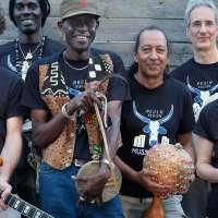 Le groupe, concert Chez Ariq - Juillet 2020